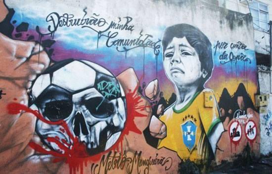 Murales Brasile 2014