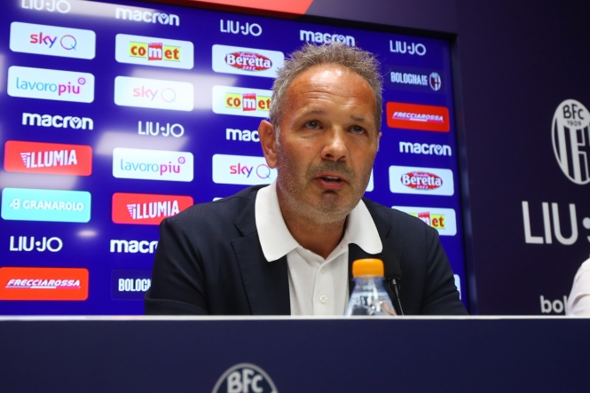 Bologna FC, conferenza stampa di Sinisa Mihajlovic